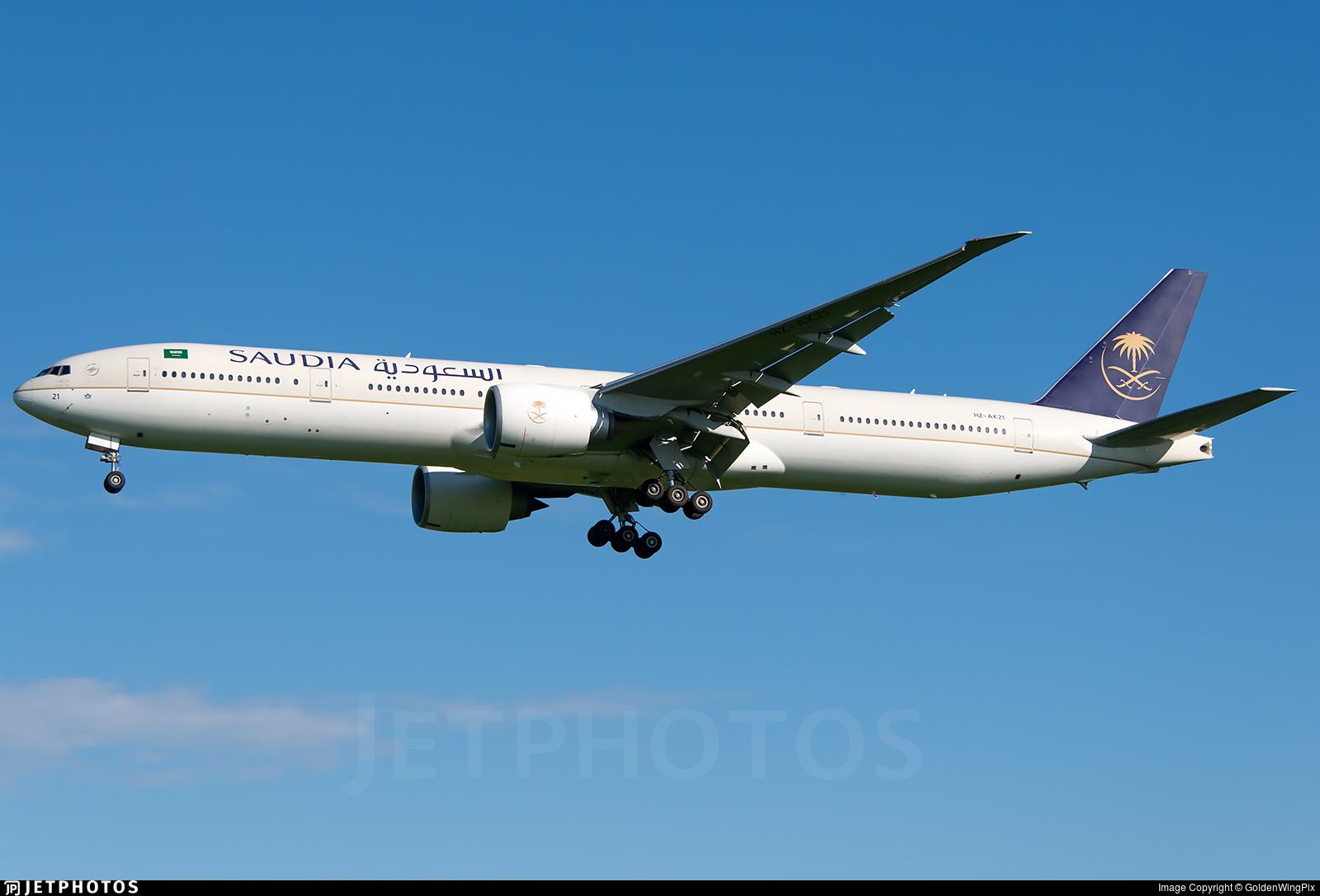 HZ-AK21 - Boeing 777-368ER - Saudi Arabian Airlines