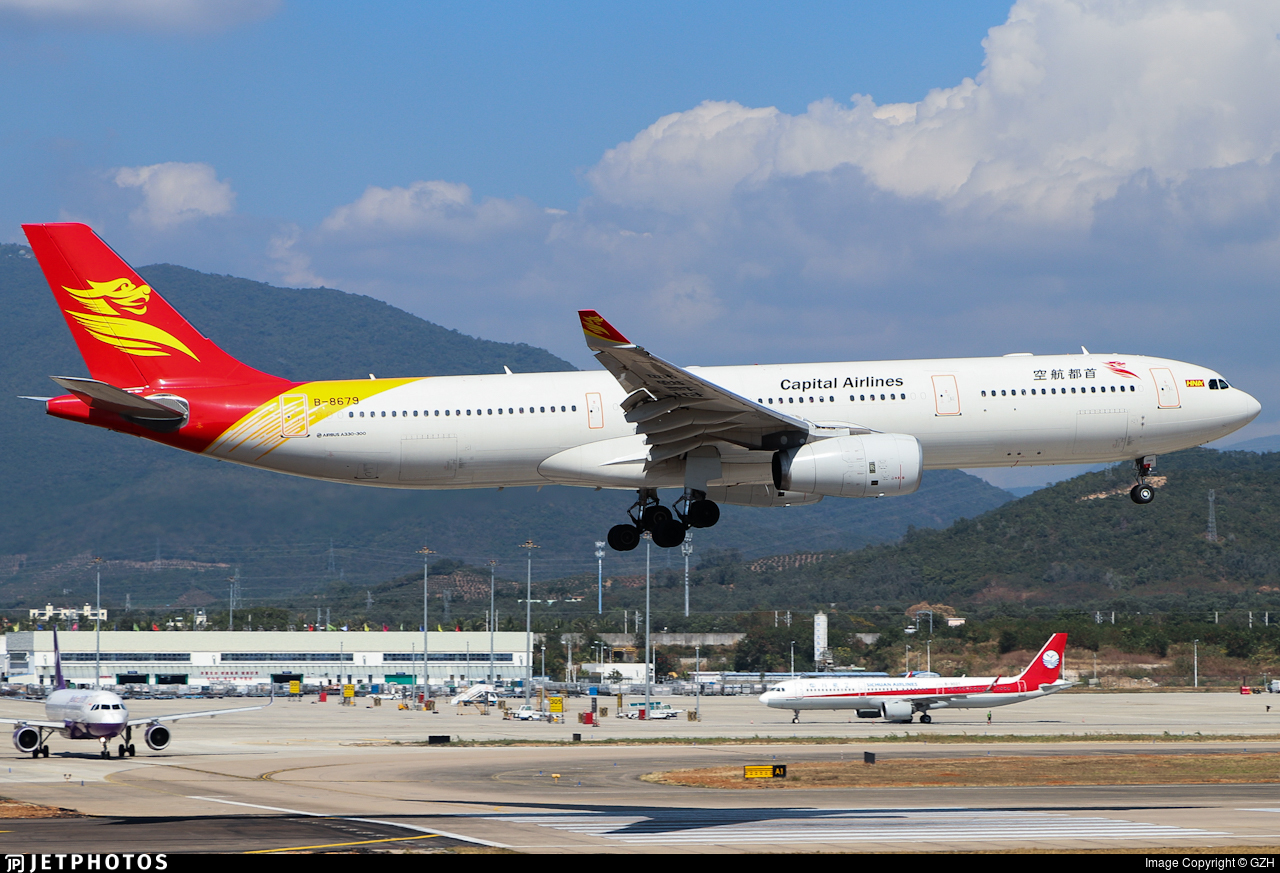 B-8679 - Airbus A330-343 - Capital Airlines