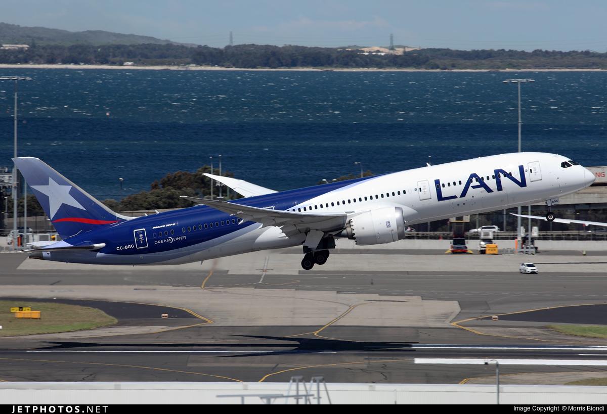 CC-BGG - Boeing 787-9 Dreamliner - LAN Airlines
