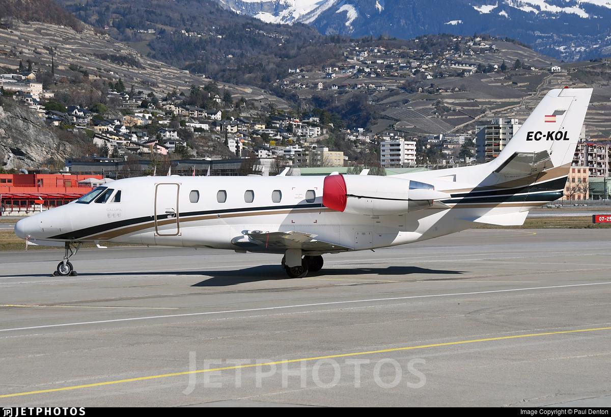 EC-KOL - Cessna 560XL Citation Excel - Gestair Private Jets