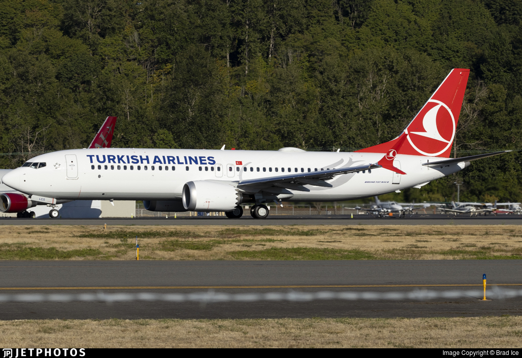 TC-LCS - Boeing 737-8 MAX - Turkish Airlines
