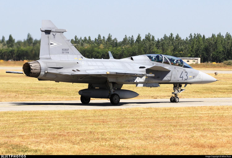 43 - Saab JAS-39D Gripen - Hungary - Air Force