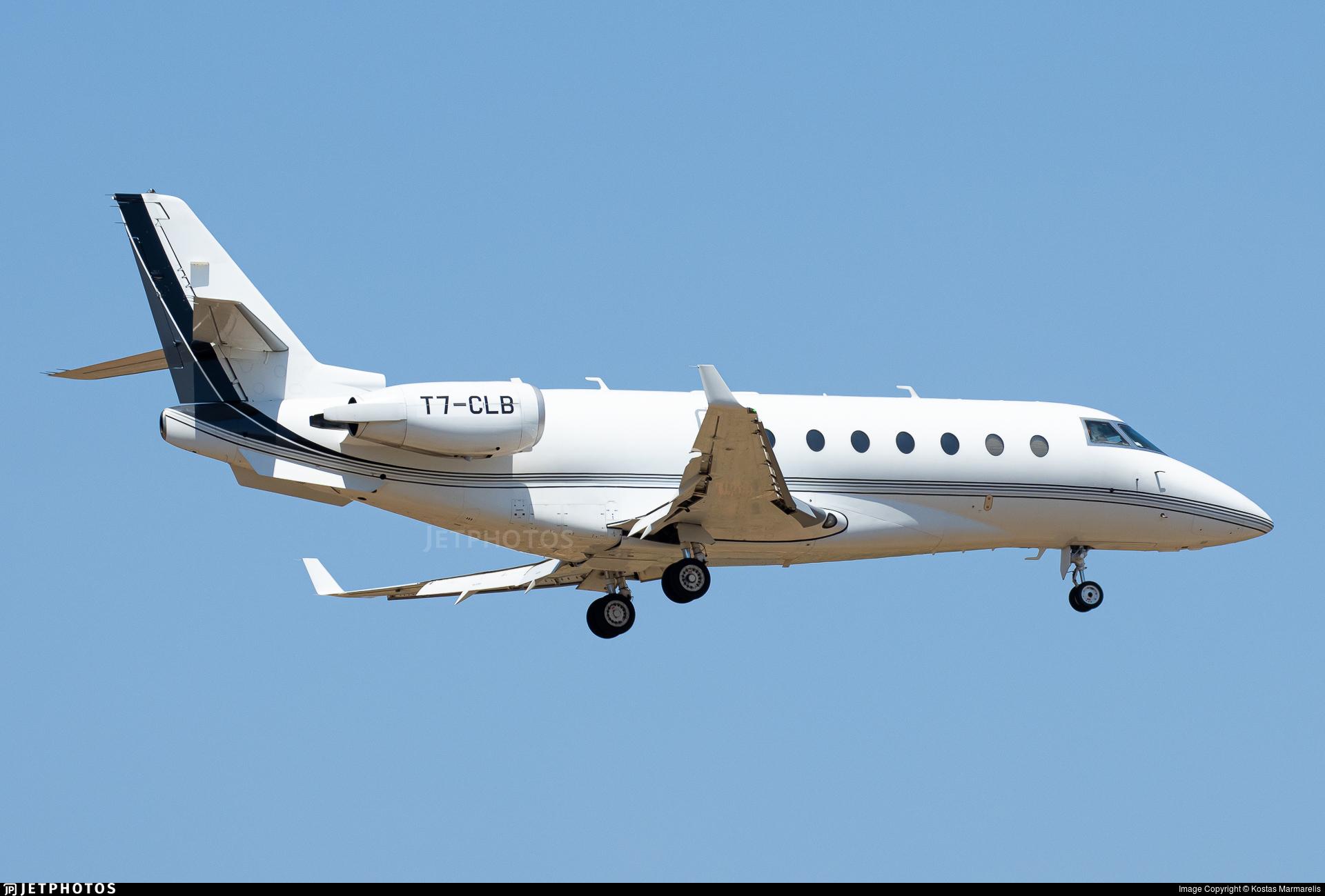 T7-CLB - Gulfstream G200 - Private
