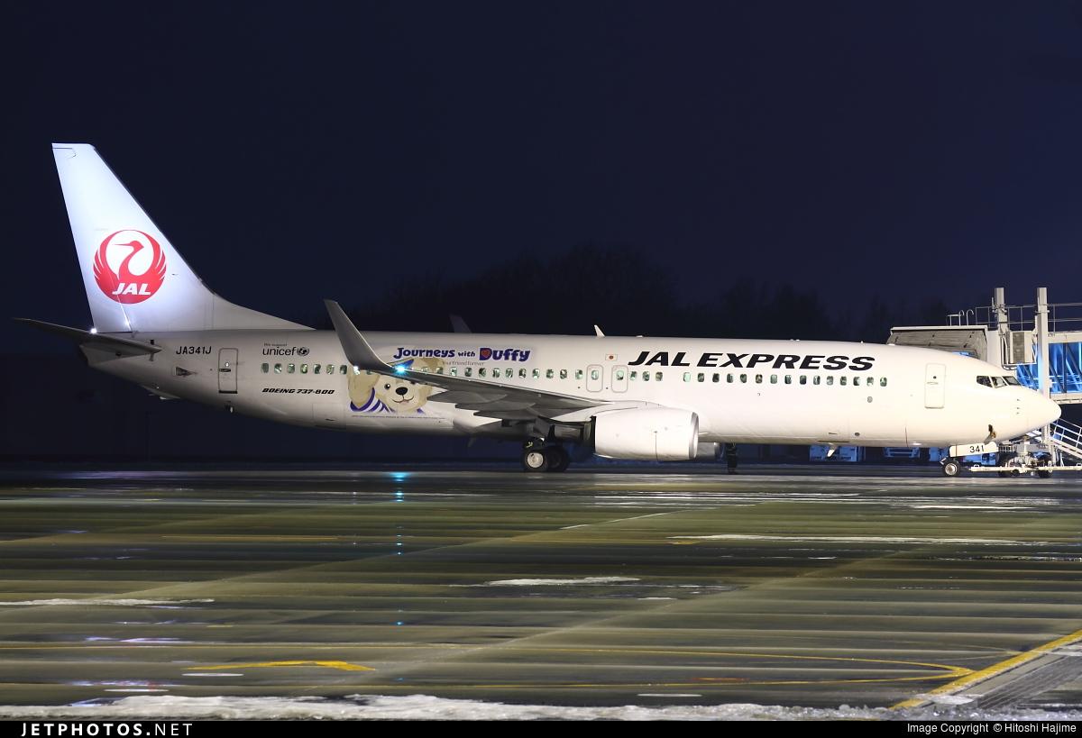 JA341J - Boeing 737-846 - JAL Express