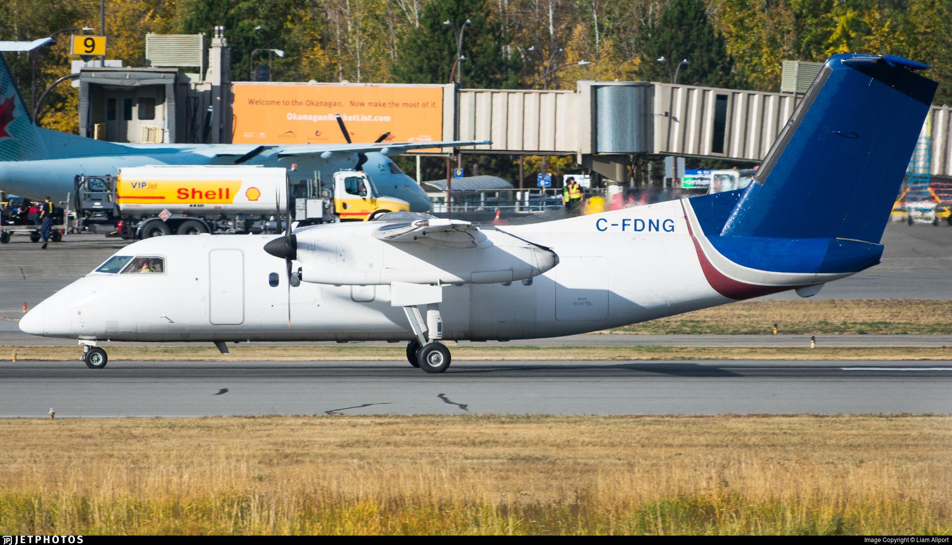 C-FDNG - Bombardier Dash 8-102 - Hawk Air