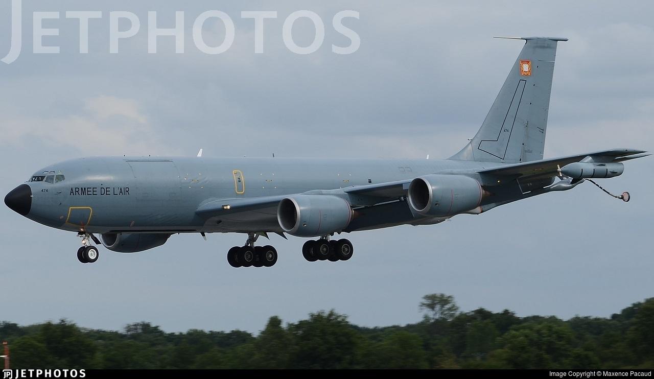 474 - Boeing C-135FR Stratotanker - France - Air Force