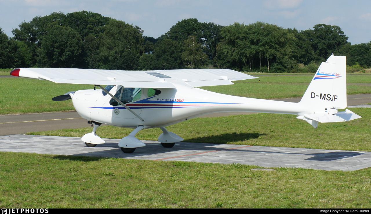 D-MSJF - Remos G-3/600 - Private