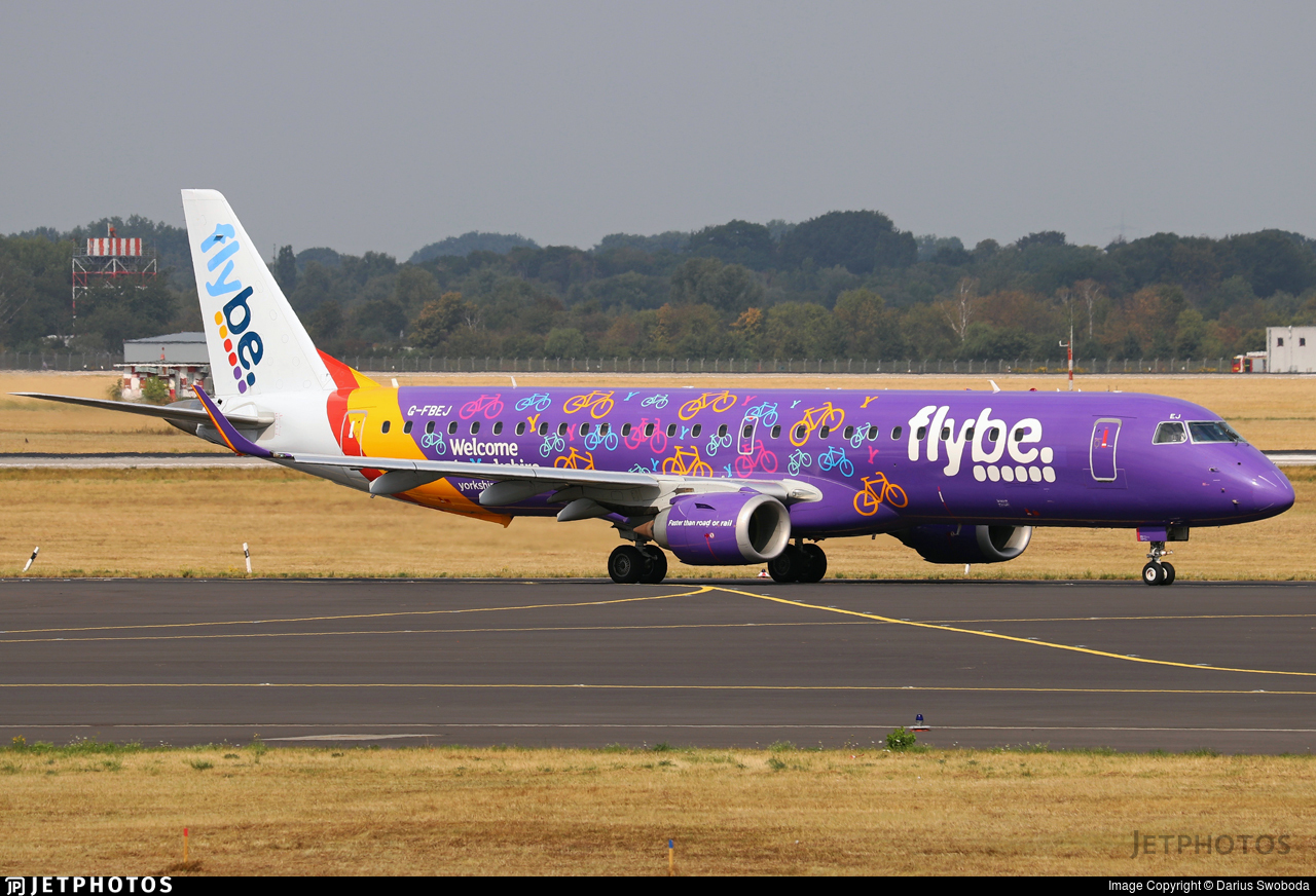 G-FBEJ - Embraer 190-200LR - Flybe