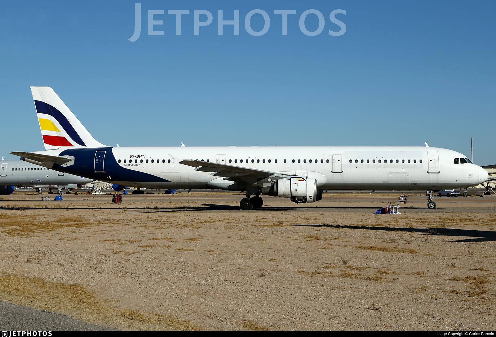 SX-BHT - Airbus A321-211 - Air Moldova (Olympus Airways)