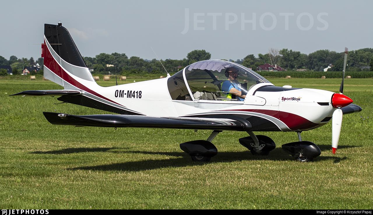 OM-M418 - Evektor-Aerotechnik SportStar Plus - Private