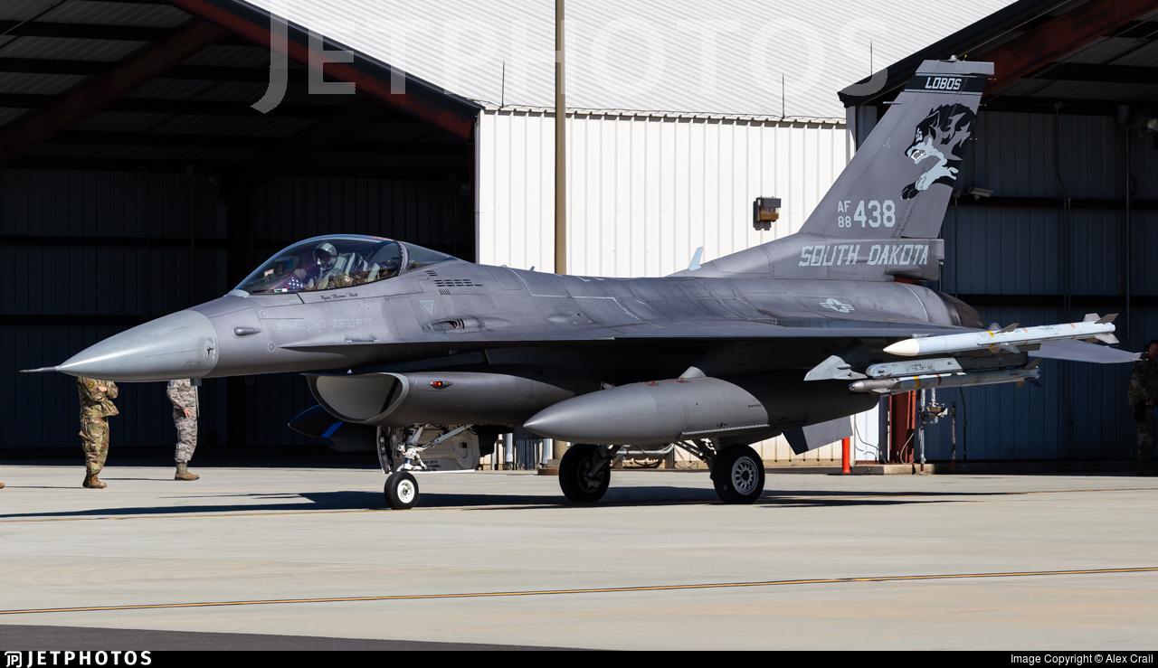 88-0438 - General Dynamics F-16CG Fighting Falcon - United States - US Air Force (USAF)