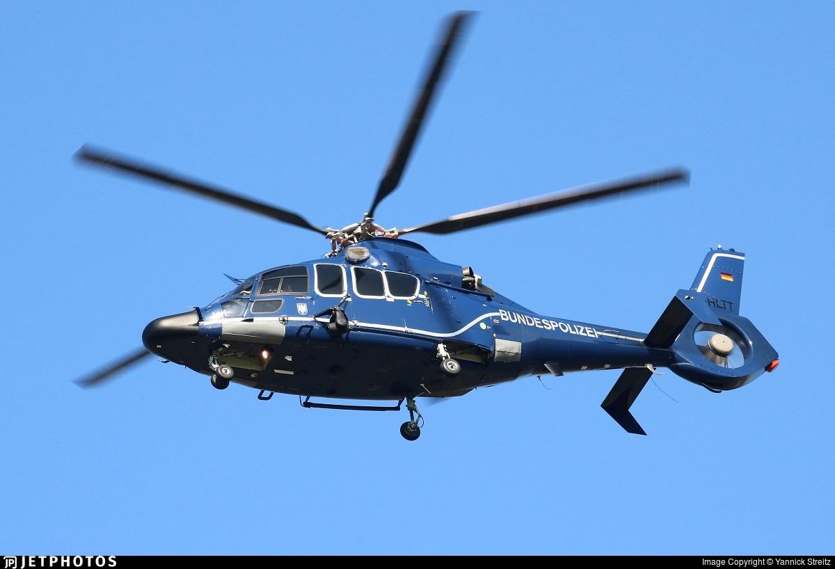 D-HLTT - Eurocopter EC 155 B1 - Germany - Bundespolizei