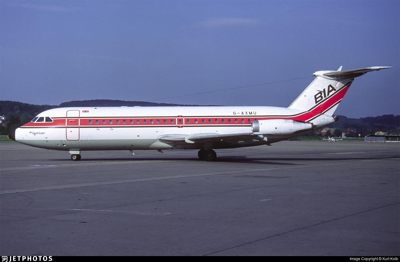G-AXMU - British Aircraft Corporation BAC 1-11 Series 432FD - British Island Airways