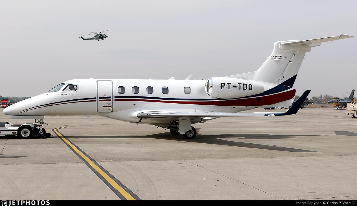 PT-TDQ - Embraer 505 Phenom 300 - Private