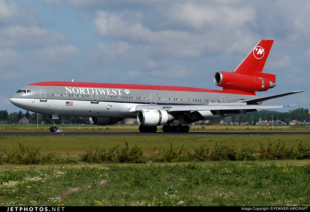 N242NW - McDonnell Douglas DC-10-30 - Northwest Airlines