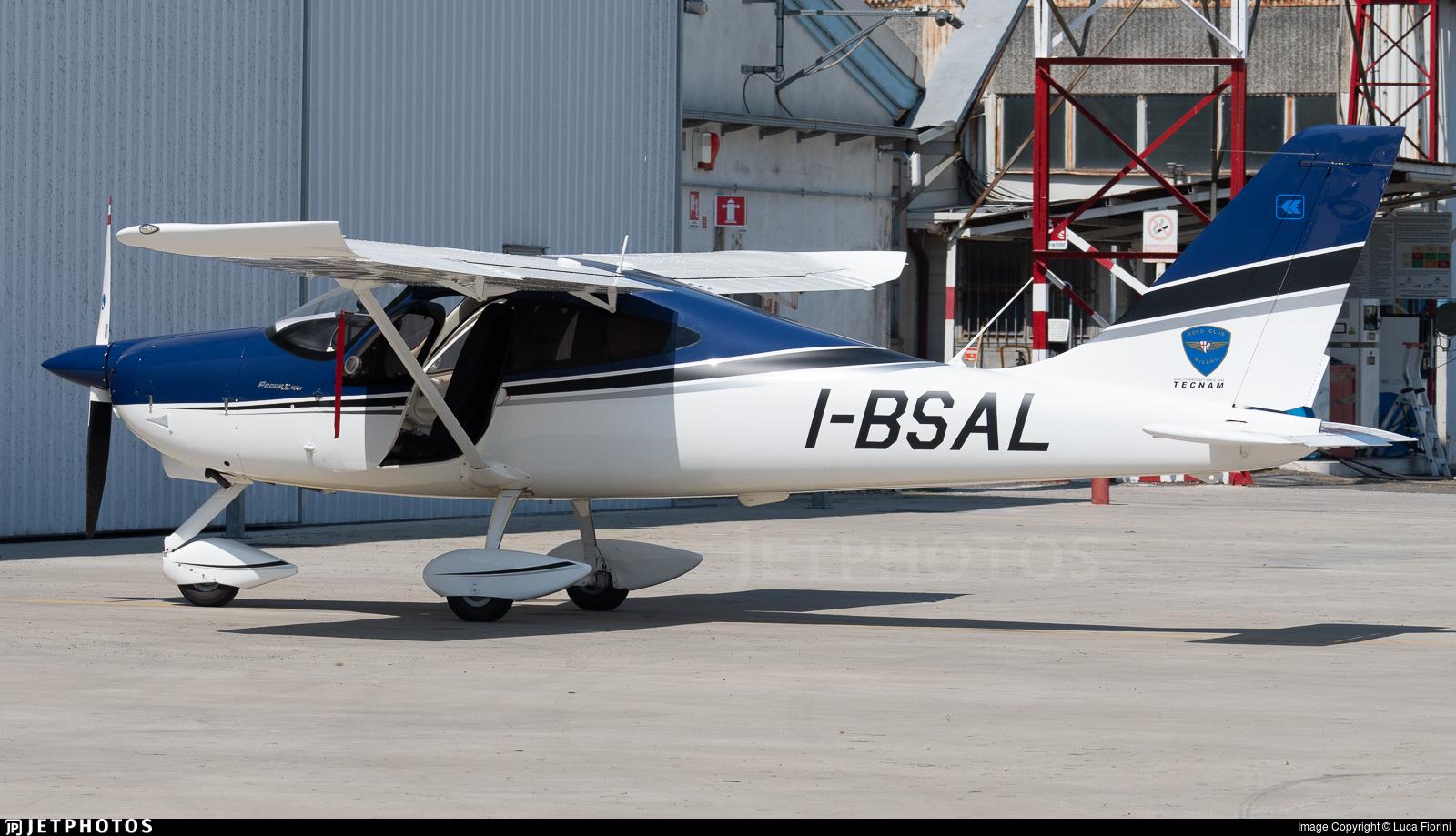 I-BSAL - Tecnam P2008-JC MKII - Aero Club - Milano