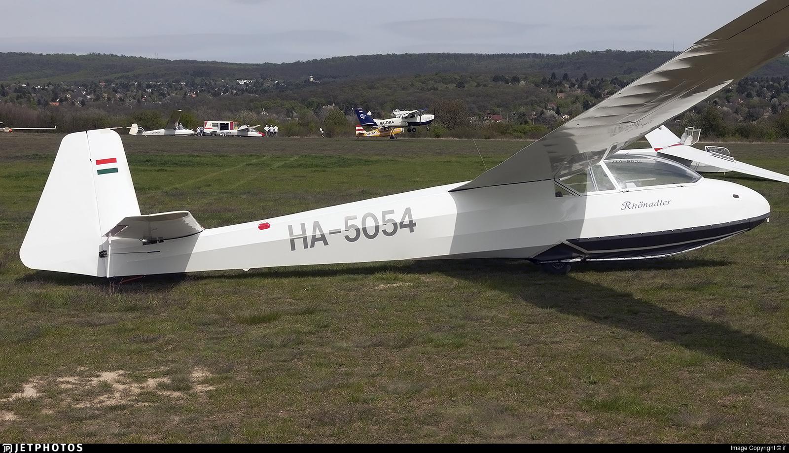HA-5054 - Schleicher Ka-7 Rhönadler - Private
