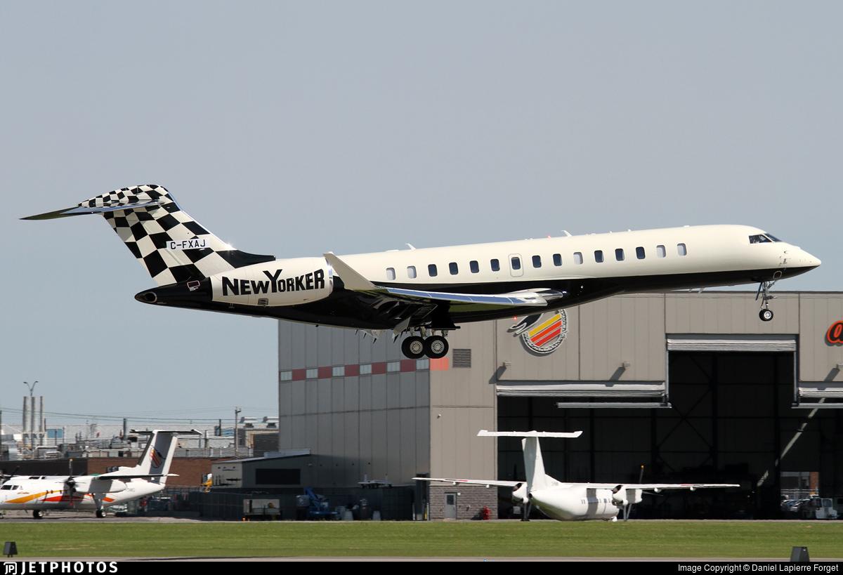 C-FXAJ - Bombardier BD-700-2A12 Global 7500  - Private