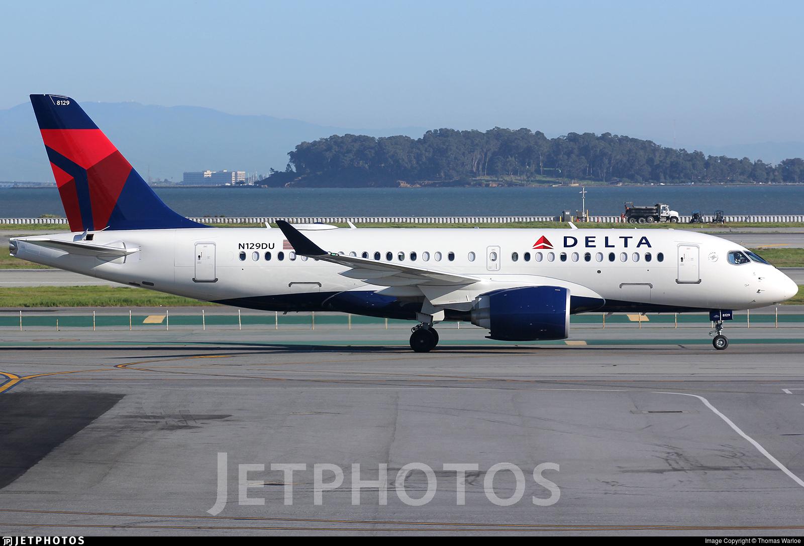 N129DU - Airbus A220-171 - Delta Air Lines
