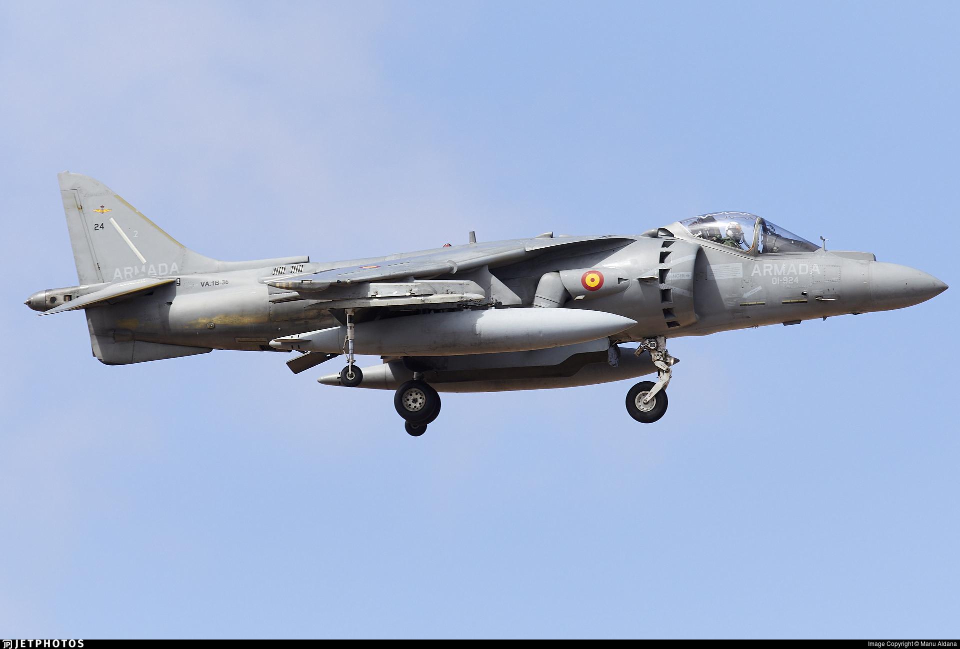 VA.1B-36 - McDonnell Douglas AV-8B+ Harrier II - Spain - Navy
