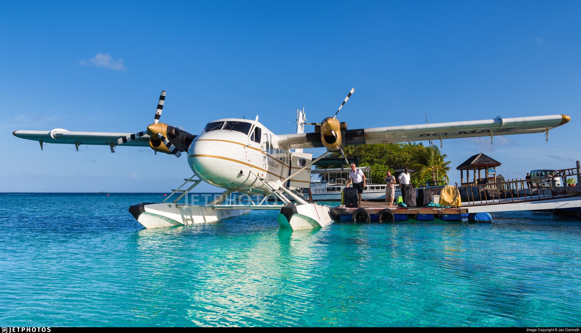 8Q-MAZ - De Havilland Canada UV-18A Twin Otter - Trans Maldivian Airways