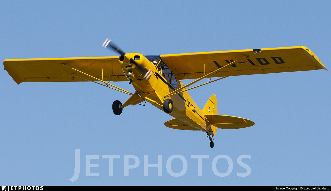 LV-IDD - Piper PA-18-180M Super Cub - Private