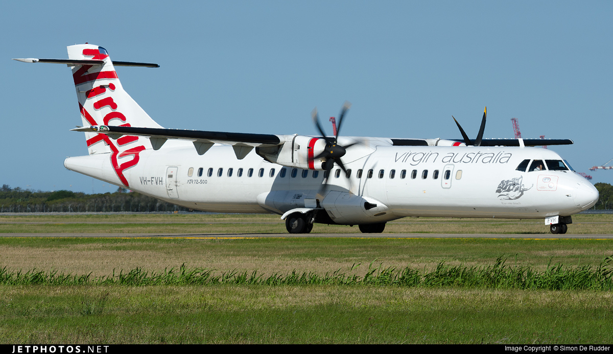 VH-FVH - ATR 72-212A(500) - Virgin Australia Airlines