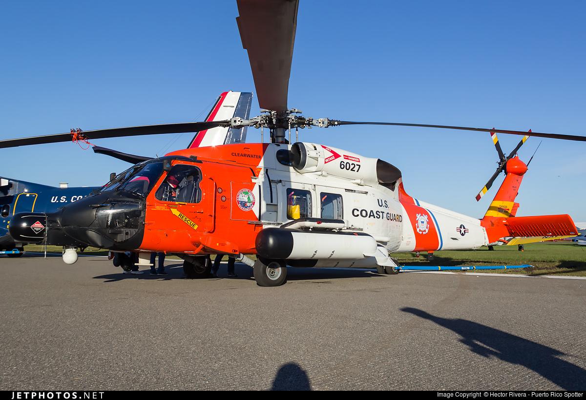 6027 | Sikorsky HH-60 Jayhawk | United States - US Coast