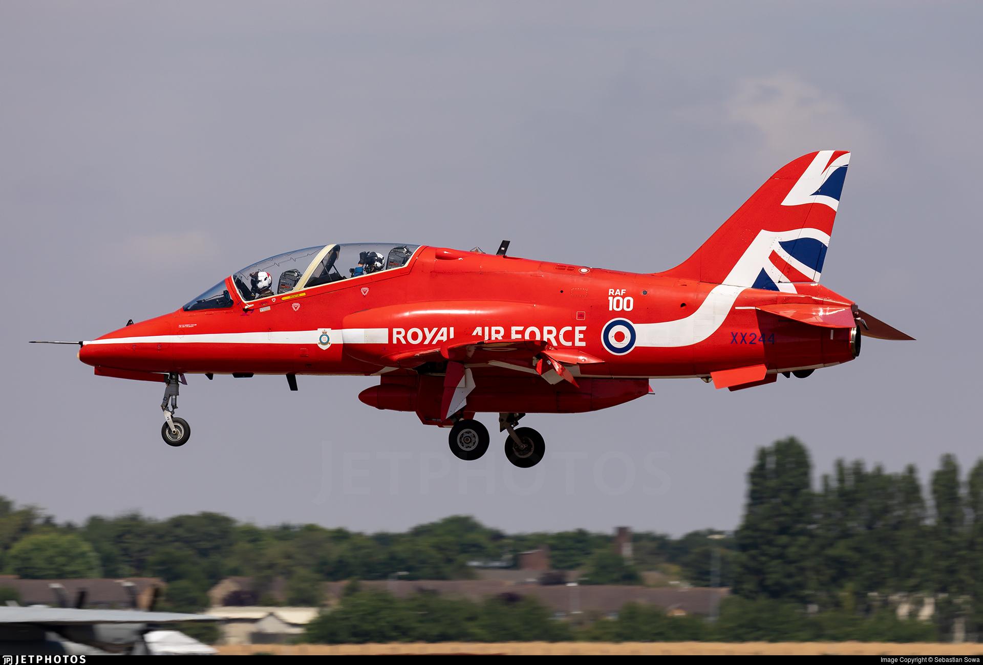 XX244 - British Aerospace Hawk T.1 - United Kingdom - Royal Air Force (RAF)