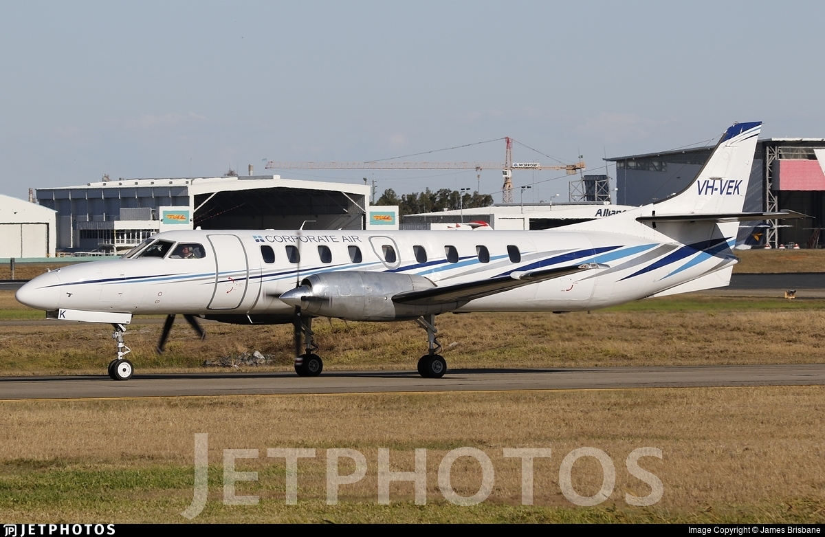 VH-VEK - Fairchild SA227-DC Metro 23 - Corporate Air