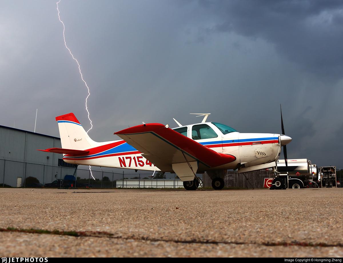 N7154N - Beechcraft E33 Bonanza - Private