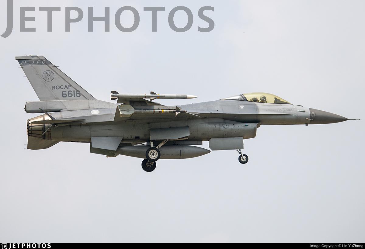 6616 - Lockheed Martin F-16 Fighting Falcon - Taiwan - Air Force