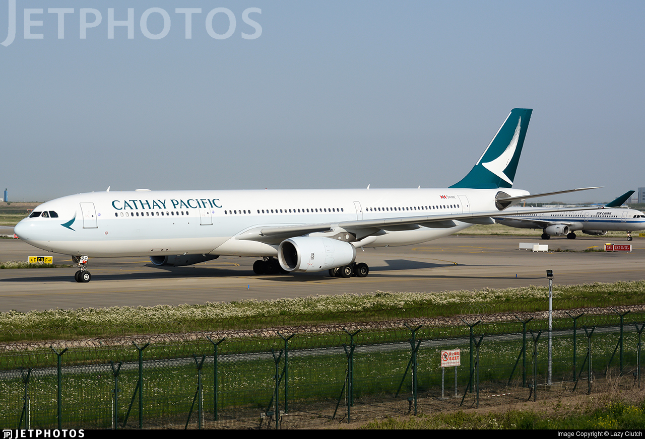 B-LBC | Airbus A330-343 | Cathay Pacific Airways | Lazy