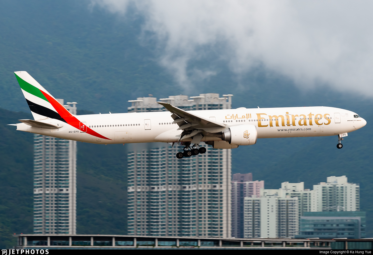 A6-EPS - Boeing 777-31HER - Emirates