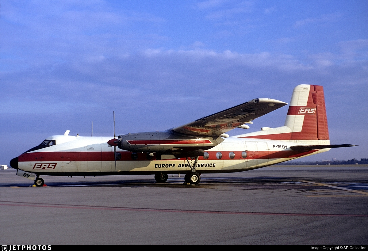 F-BLOY - Handley Page Dart Herald 210 - Europe Aero Service (EAS)