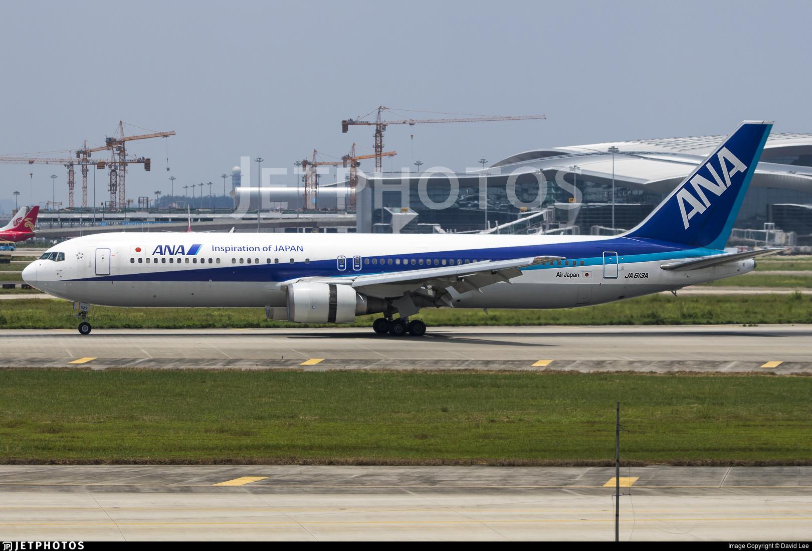 JA613A - Boeing 767-381(ER) - All Nippon Airways (ANA)