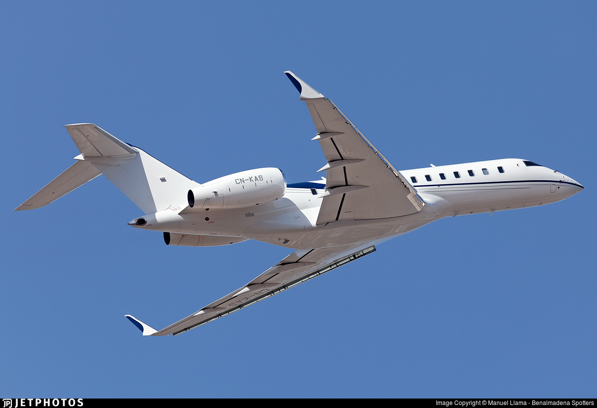 CN-KAS - Bombardier BD-700-1A11 Global 5000 - Private