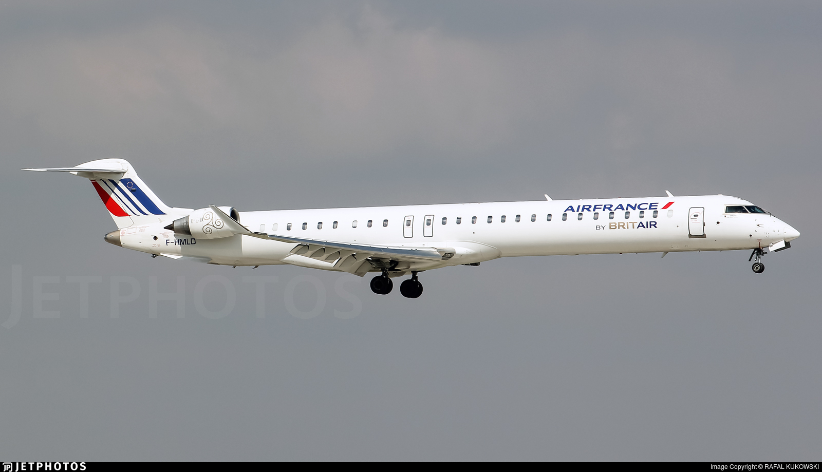 F-HMLD - Bombardier CRJ-1000EL - Air France (Brit Air)