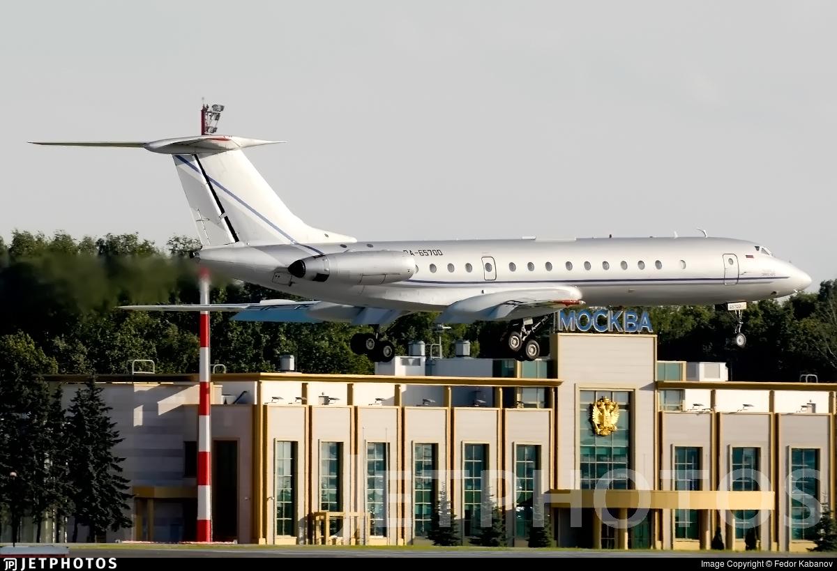RA-65700 - Tupolev Tu-134B-3 - Sirius-Aero