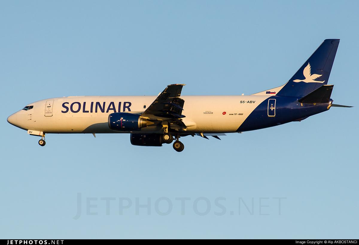 S5-ABV - Boeing 737-4K5(SF) - Solinair