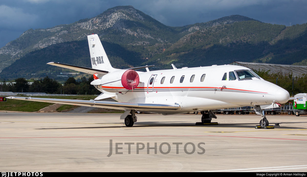 OH-RBX - Cessna 560XL Citation Excel - Private