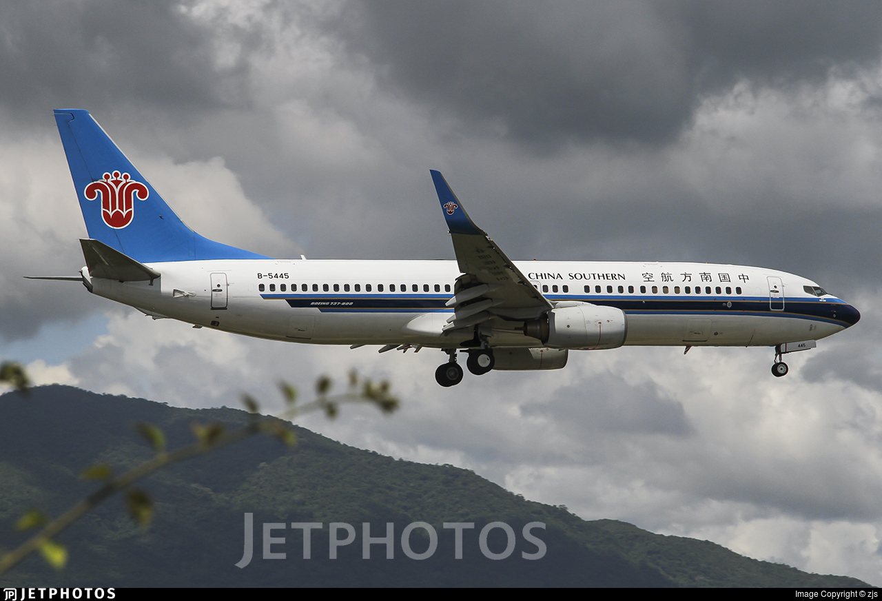 B-5445 - Boeing 737-81B - China Southern Airlines