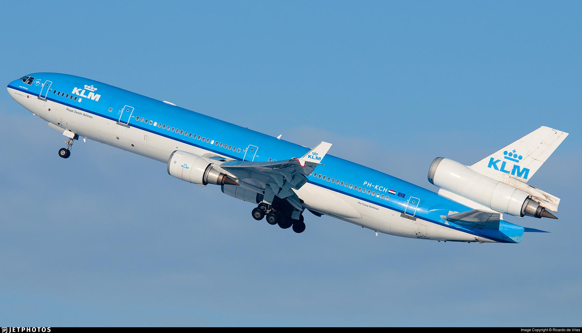 PH-KCH - McDonnell Douglas MD-11 - KLM Royal Dutch Airlines