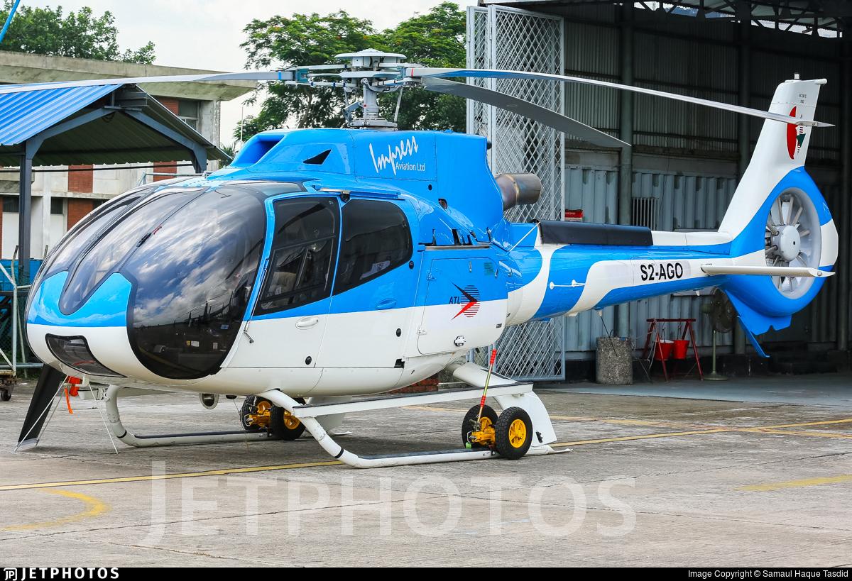 S2-AGO - Eurocopter EC 130T2 - Impress Aviation