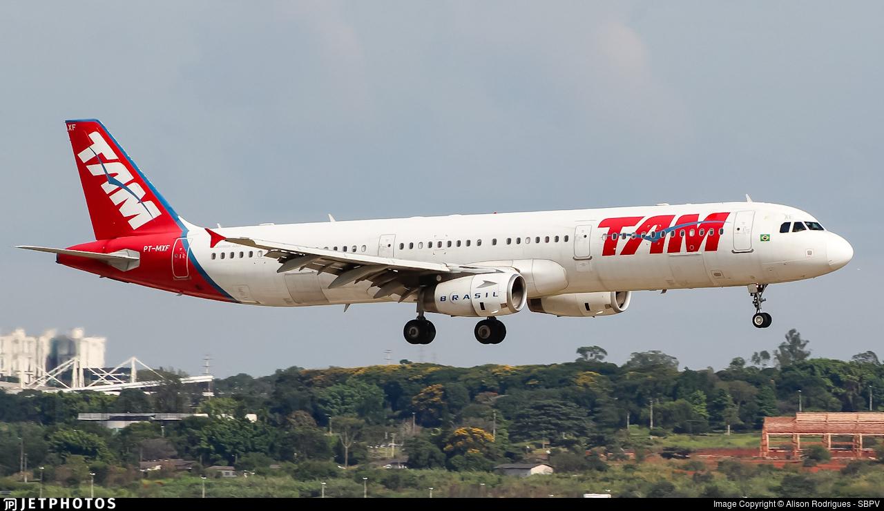 PT-MXF - Airbus A321-231 - TAM Linhas Aéreas
