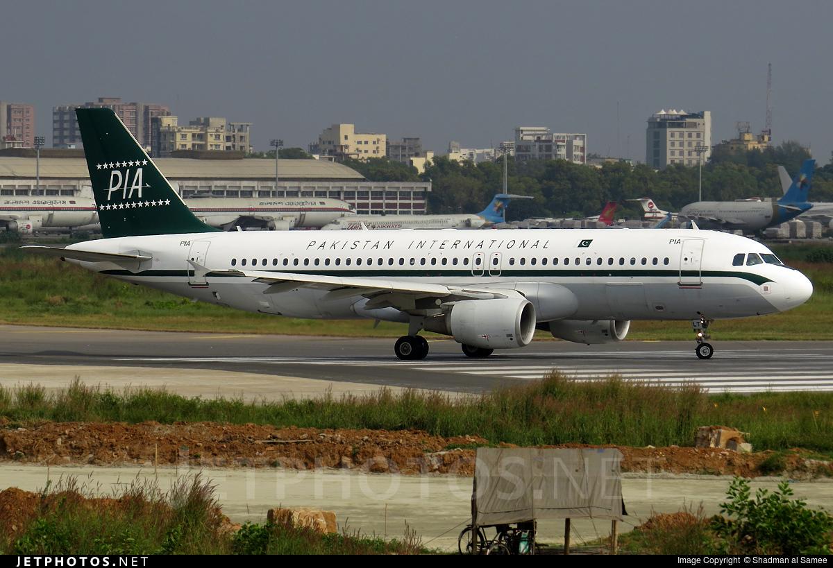 AP-BLT - Airbus A320-214 - Pakistan International Airlines (PIA)