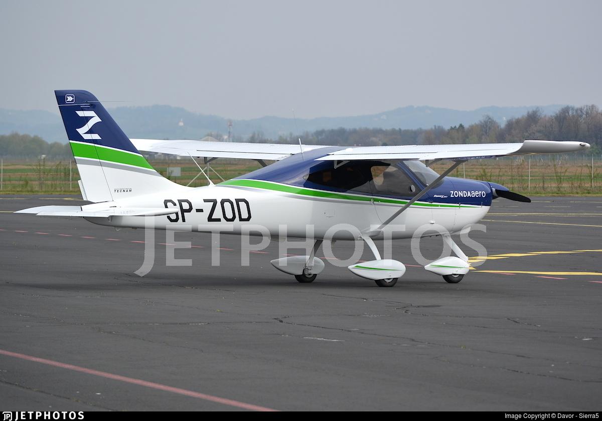 SP-ZOD - Tecnam P2008JC MkII - ZONDAaero Flight School