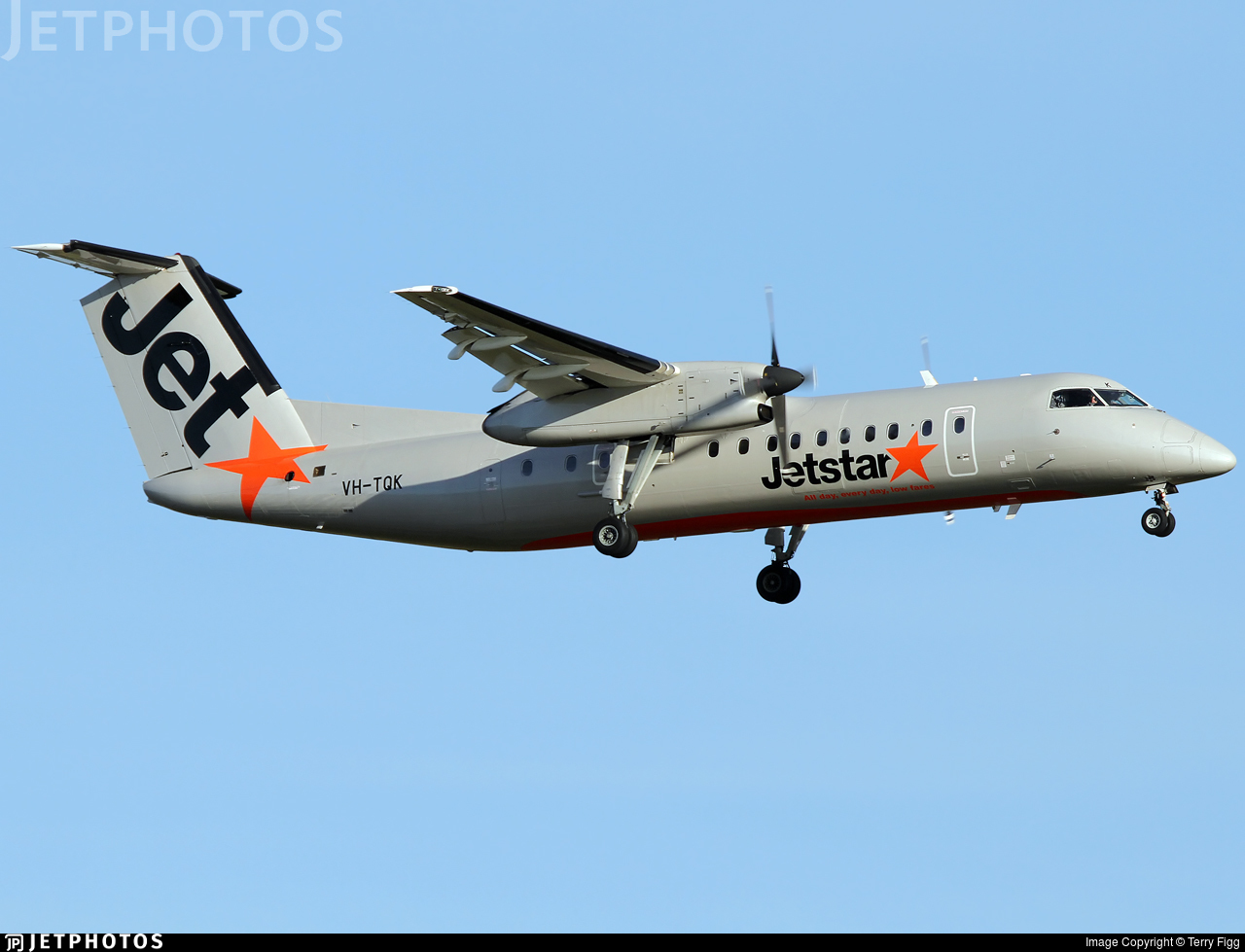 VH-TQK - Bombardier Dash 8-Q315 - Jetstar Airways (Eastern Australia Airlines)