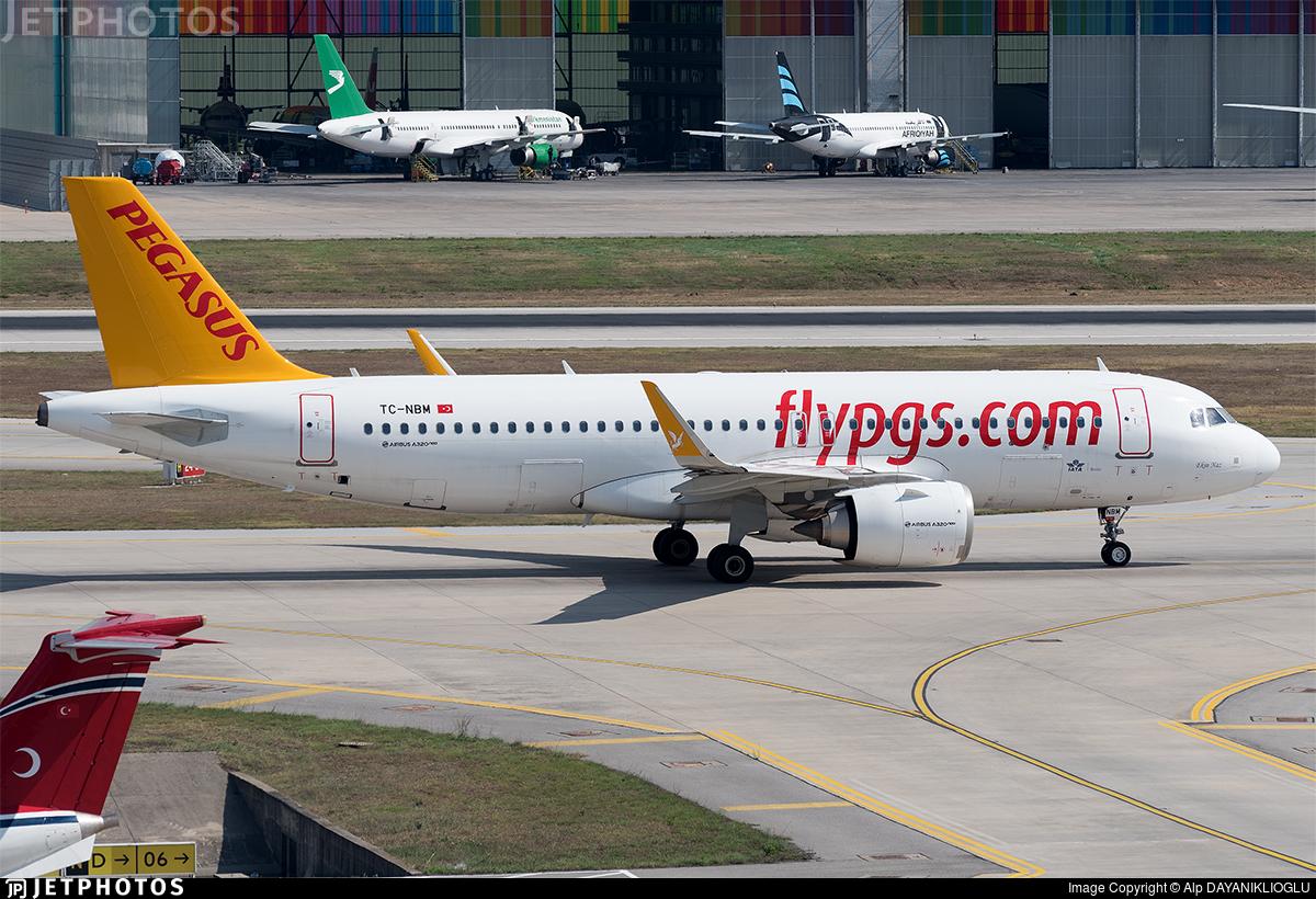 TC-NBM - Airbus A320-251N - Pegasus Airlines