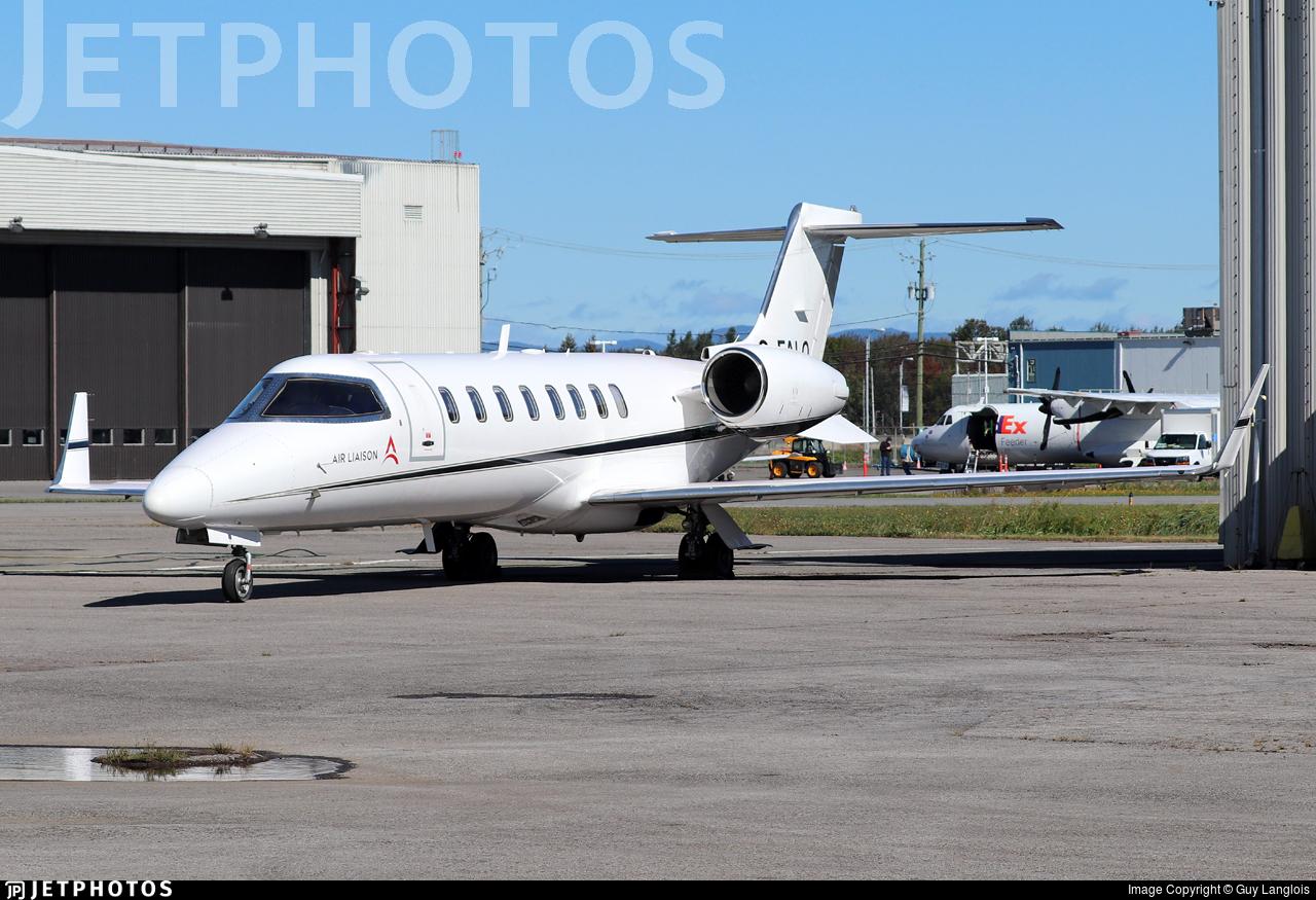C-FALQ - Bombardier Learjet 45 - Skyjet Aviation (Air Liaison)